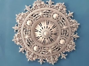 Ceiling Rose from the Zion Chapel