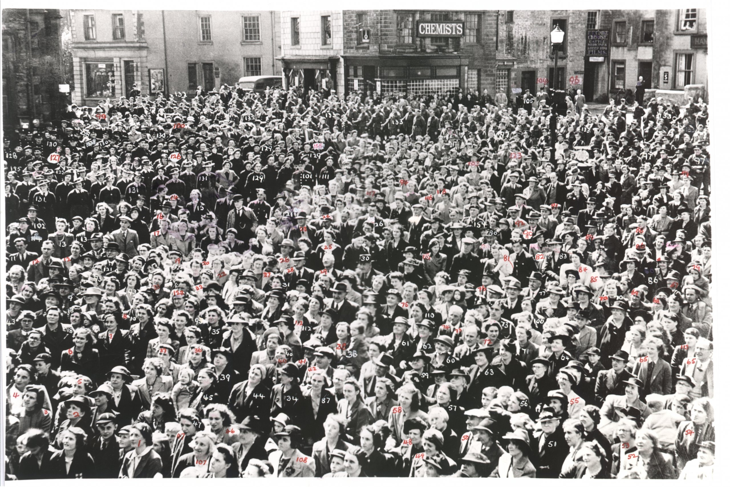 VE Day, Market Square, Settle
