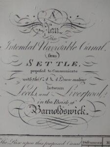 Prospectus for Setttle canal